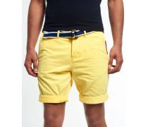 Herren International Chino Shorts gelb