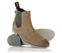 Herren Meteora Chelsea Boots grau
