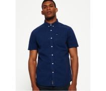 Herren Ultimate City Oxfordhemd blau