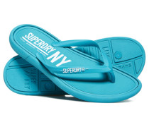 Damen NYC Flipflops blau