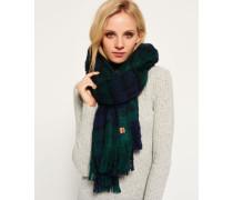 Damen Super Orkney Schal grün