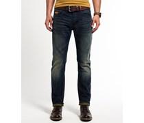 Herren Copperfill Loose Jeans dunkelblau