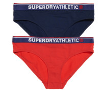 Damen Tri Athletic Slips im 2er-Pack marineblau