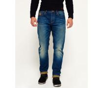 Herren Copperfill Loose Jeans blau