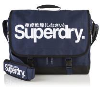 Herren Supergrit Tarp Laptop-Tasche blau
