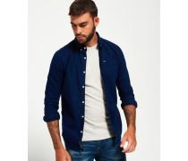 Herren Ultimate Oxford-Hemd marineblau