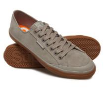 Herren Niedrige Pro Luxe Sneaker hellgrau