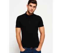 Herren City Polo-Shirt schwarz
