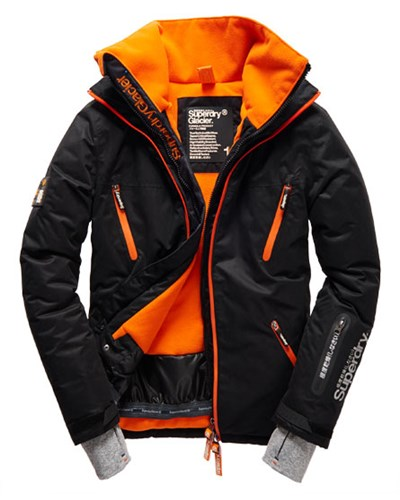 superdry herren superdry herren glacier jacke schwarz 50 reduziert. Black Bedroom Furniture Sets. Home Design Ideas