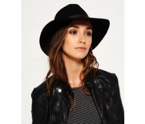 Damen Racer Day Hut schwarz