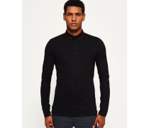 Herren IE Style Polo-Shirt schwarz