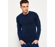 Herren Garment Dyed L.a. Crew Neck Sweatshirt marineblau