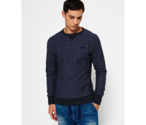 Herren Orange Label Crew Neck Sweatshirt marineblau