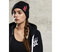Damen Core Sport Beaniemütze schwarz