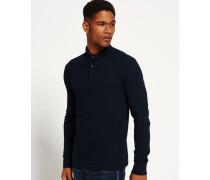 Herren City Polo-Shirt marineblau