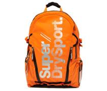 Herren Sport Tarp Rucksack orange