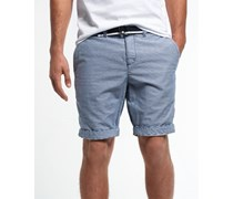 Herren International Hampton Chino Shorts blau
