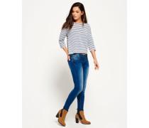 Damen Cassie Skinny Jeans x Dunkelblau