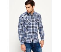 Herren Refined Lumberjack Hemd marineblau