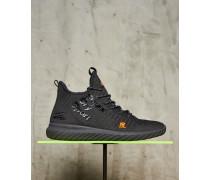 Herren Nebulus Hybrid High Sneaker dunkelgrau