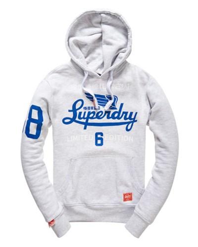 superdry herren superdry herren limited icarus hoodie hell grau reduziert. Black Bedroom Furniture Sets. Home Design Ideas