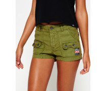 Damen Utility Hot Shorts grün