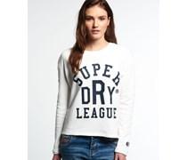 Damen Tri League Sweatshirt weiß