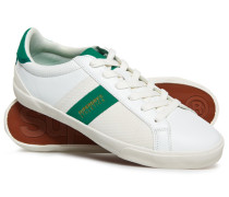 Herren Vintage Court Sneaker weiß
