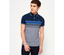 Herren Atlantic Polo-Shirt blau