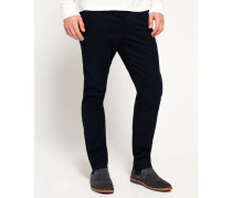 Herren City Slim Chinos marineblau