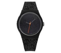 Urban Colour Block Uhr schwarz