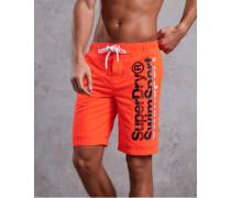 Herren  Herren Boardshorts orange
