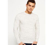 Herren Orange Label Crew Strickpulli grau