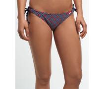 Damen Zigzag Anchor Bikinihöschen marineblau
