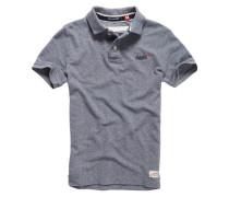 Herren Classic Pique Polo-Shirt blau