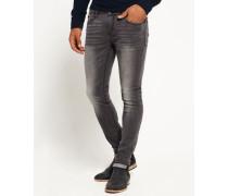Herren Ultra Skinny Jeans grau