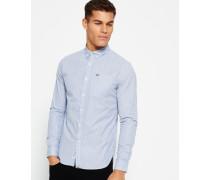 Herren London Button-Down Hemd marineblau