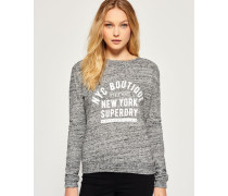 Damen City Sweatshirt grau