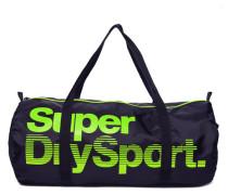 Herren Super Sport Gym Barrel Tasche marineblau