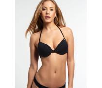 Damen Bügel-Bikini Santorini schwarz