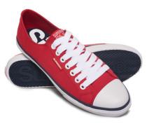 Herren Niedrige Pro Sneaker rot