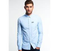 Herren Shoreditch Button-Down Hemd blau