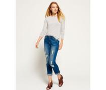 Damen Harper Boyfriend Jeans blau