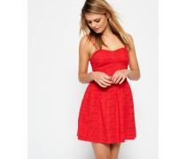 Damen 50's Boardwalk Kleid rot
