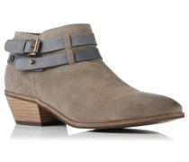 Damen Lily Low Ankle Boots hellgrau