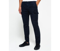 Herren Surplus Goods Low Rise Cargohose marineblau
