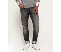 Herren Jogger Jeans dunkelgrau