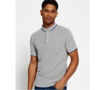 Herren Cityline Polo-Shirt grau