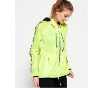 Damen Core Effect Windcheater-Jacke gelb