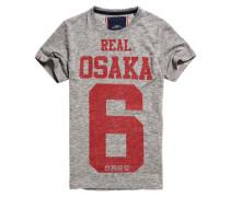 Herren Real Osaka 6 T-Shirt grau